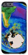 Global Biosphere, Southern Hemisphere, From Space IPhone Case by Gene Feldman, Nasa Gsfc