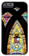 Gold Stained Glass Window IPhone Case by Thomas Woolworth