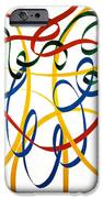 Heart Strings IPhone Case by Neil McBride