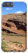 Hiking The Moab Rim IPhone Case by Gary Whitton