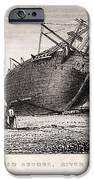 Hms Beagle Ship Laid Up Darwin's Voyage IPhone Case by Paul D Stewart