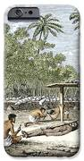 Human Sacrifice In Tahiti, Artwork IPhone Case by Sheila Terry