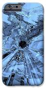 Ice Blue - Abstract Art IPhone Case by Carol Groenen