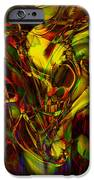 Injections IPhone Case by Linda Sannuti