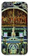Inside St Louis Cathedral Jackson Square French Quarter New Orleans Glowing Edges Digital Art IPhone Case by Shawn O'Brien