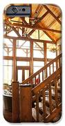 Interior Of Large Wooden Lodge IPhone Case by Will and Deni McIntyre