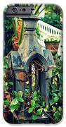 Iron Fence Detail IPhone Case by Perry Webster