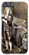 Isaac Newton Ray Of Light IPhone Case by Science Source