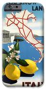 Italy IPhone Case by Georgia Fowler