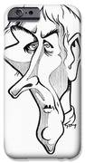 Jean Lamarck, Caricature IPhone Case by Gary Brown