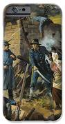 John Brown On 30 August 1856 Intercepting A Body Of Pro-slavery Men IPhone Case by Andrew Howart