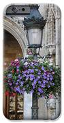 Lamp And Lace At The Grand Place IPhone Case by Carol Groenen