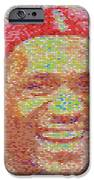 Lebron James Pez Candy Mosaic IPhone Case by Paul Van Scott