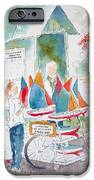 Les Voiliers Jardin Du Luxembourg IPhone Case by Pat Katz
