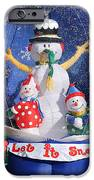 Let It Snow IPhone Case by Christine Till