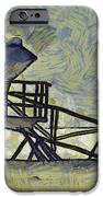 Lifeguard Station 17 IPhone Case by Ernie Echols