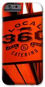 Local 360 In Orange IPhone Case by Kym Backland