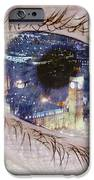 London Eye IPhone Case by Alice Gosling