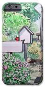 Mail Boxes Sketchbook Project Down My Street IPhone Case by Irina Sztukowski