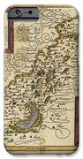 Map Of Palestine, 1588 IPhone Case by Photo Researchers