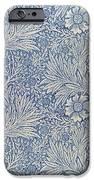 Marigold Wallpaper Design IPhone Case by William Morris