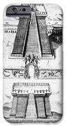 Mexico: Aztec Temple, 1765 IPhone Case by Granger