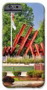 Morris Plains September 11th Memorial IPhone Case by Nick Zelinsky
