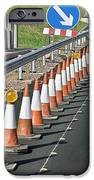 Motorway Traffic Cones IPhone Case by Linda Wright