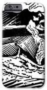 Mount Etna, Woodcut IPhone Case by Gary Hincks
