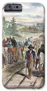 Nc: Freed Slaves, 1863 IPhone Case by Granger