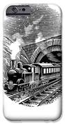 Night Train, Artwork IPhone Case by Bill Sanderson