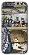 Nostradamus's Magic Mirror IPhone Case by Sheila Terry