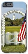 Ocracoke Lighthouse July 4th IPhone Case by Bill Swindaman