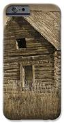 Old Hunting Cabin - Wyoming IPhone Case by Donna Greene