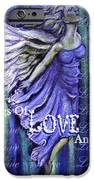 On Wings Of Love Angels Sing IPhone Case by The Art With A Heart By Charlotte Phillips