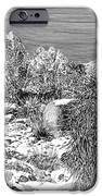 Organ Mountain Wintertime IPhone Case by Jack Pumphrey