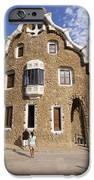 Park Guell Barcelona Antoni Gaudi IPhone Case by Matthias Hauser