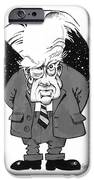 Patrick Moore, British Astronomer IPhone Case by Gary Brown