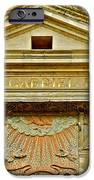 Pediment Of Oldest High School In France IPhone Case by Kirsten Giving