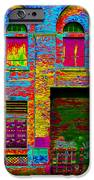 Psychadelic Architecture IPhone Case by Andrew Fare