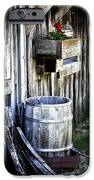 Rain Barrel Geranium IPhone Case by Melissa  Connors