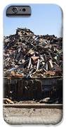 Recycle Dump Site Or Yard For Steel IPhone Case by Corepics