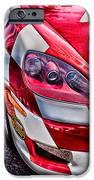Red Corvette IPhone Case by Lauri Novak