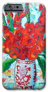 Red Gladiolus IPhone Case by Ana Maria Edulescu
