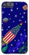 Romney Rocket - Restoring America's Promise IPhone Case by Robert SORENSEN