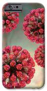 Rubella Virus Particles IPhone Case by Russell Kightley