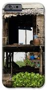 Rural Fishermen Houses In Cambodia IPhone Case by Artur Bogacki