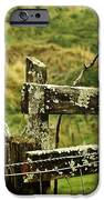 Rustic Fence IPhone Case by Marilyn Wilson