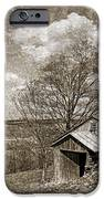 Rustic Hillside Barn IPhone Case by John Stephens
