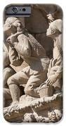 Sagrada Familia Barcelona Nativity Facade Detail IPhone Case by Matthias Hauser